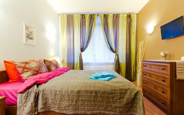 Апартаменты Lakshmi Apartment Krasnye Vorota комната для гостей