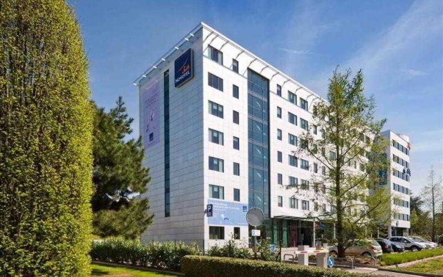 Отель Novotel Suites Geneve Aeroport вид на фасад