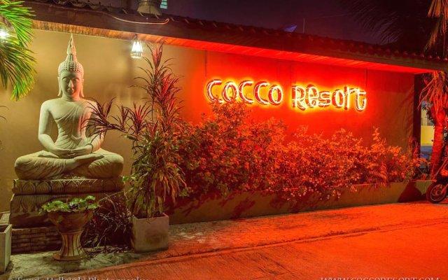 Отель Cocco Resort вид на фасад