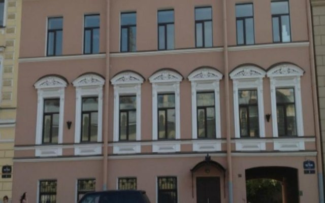 Гостиница Pestel Inn вид на фасад