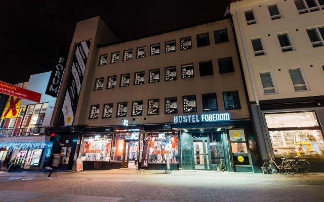 Forenom Hostel Jyväskylä Ювяскюля вид на фасад
