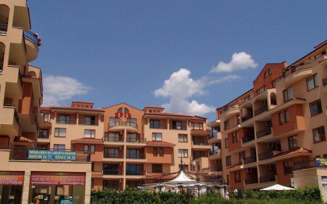 Отель Aparthotel Efir 2 Болгария, Солнечный берег - отзывы, цены и фото номеров - забронировать отель Aparthotel Efir 2 онлайн вид на фасад