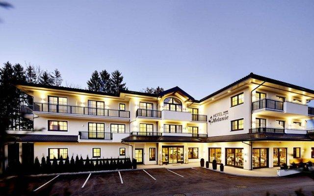 Hotel Garni Melanie вид на фасад