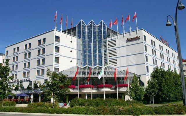 Scandic Jyvaskyla Hotel Ювяскюля вид на фасад