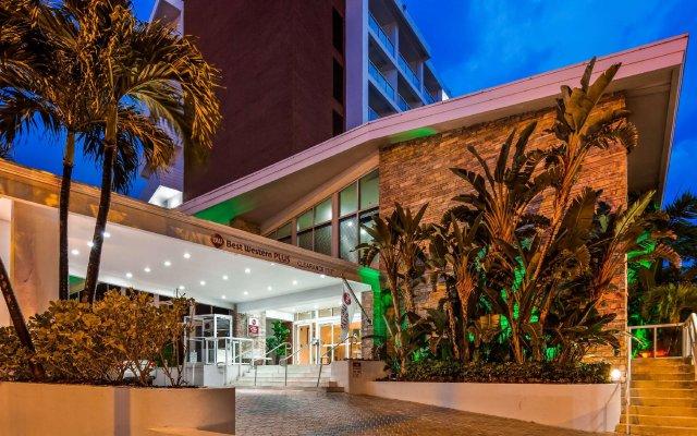 Отель Best Western Atlantic Beach Resort США, Майами-Бич - - забронировать отель Best Western Atlantic Beach Resort, цены и фото номеров вид на фасад