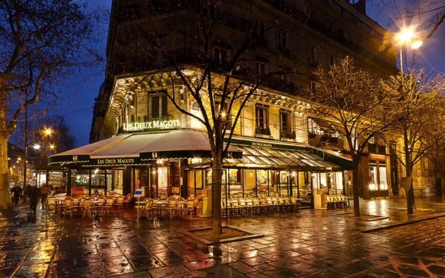 Hotel La Villa Saint Germain Des Prés вид на фасад