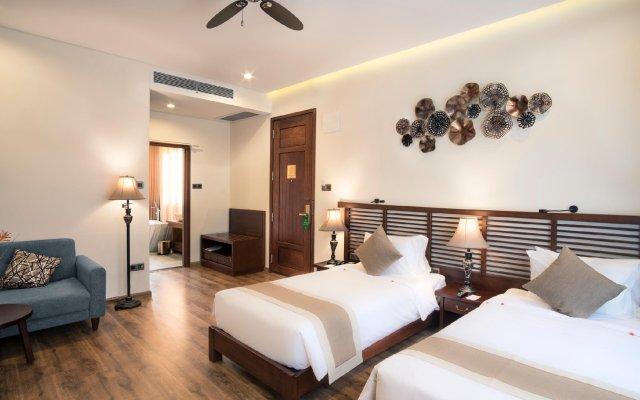 Отель Silk Sense Hoi An River Resort Вьетнам, Хойан - отзывы, цены и фото номеров - забронировать отель Silk Sense Hoi An River Resort онлайн комната для гостей