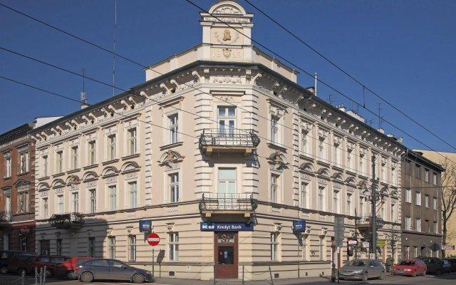 Enigma Hotel Apartments Краков вид на фасад