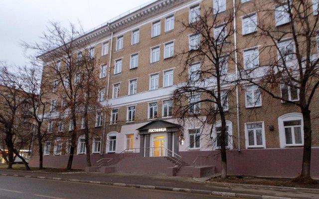 Отель Арома на Кожуховской Москва вид на фасад