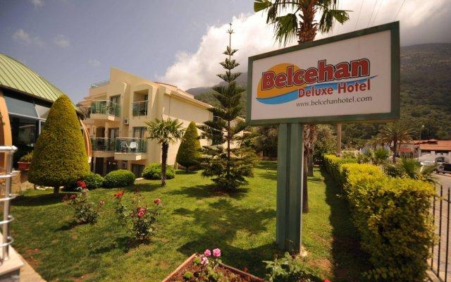 Belcehan Deluxe Hotel Турция, Олудениз - отзывы, цены и фото номеров - забронировать отель Belcehan Deluxe Hotel онлайн вид на фасад