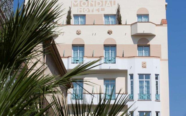 Отель BEST WESTERN Mondial вид на фасад