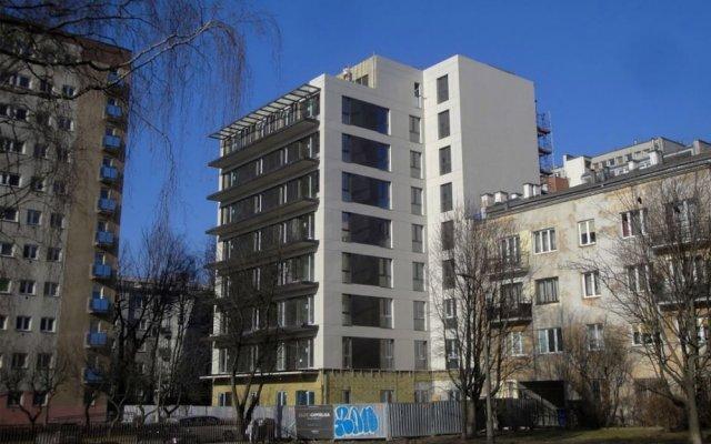 Апартаменты ClickTheFlat Golden Terraces Apartment вид на фасад