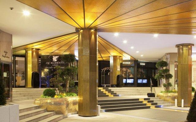 Отель JW Marriott Cannes Франция, Канны - 2 отзыва об отеле, цены и фото номеров - забронировать отель JW Marriott Cannes онлайн вид на фасад