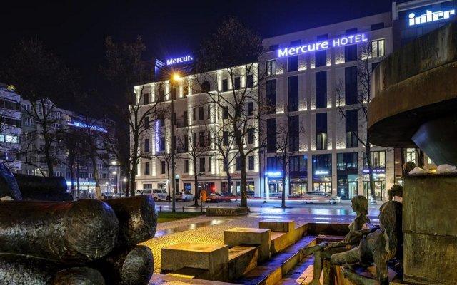 Mercure Hotel Berlin Wittenbergplatz вид на фасад