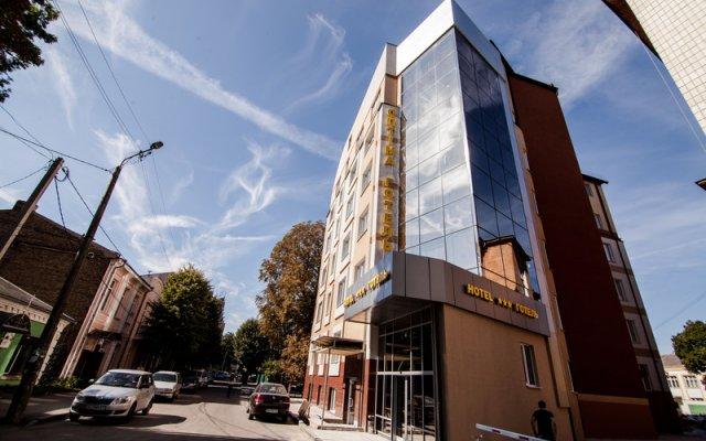 Гостиница Optima Rivne Ровно вид на фасад
