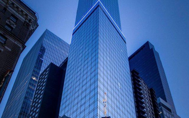 Отель Courtyard by Marriott New York Manhattan/Central Park вид на фасад