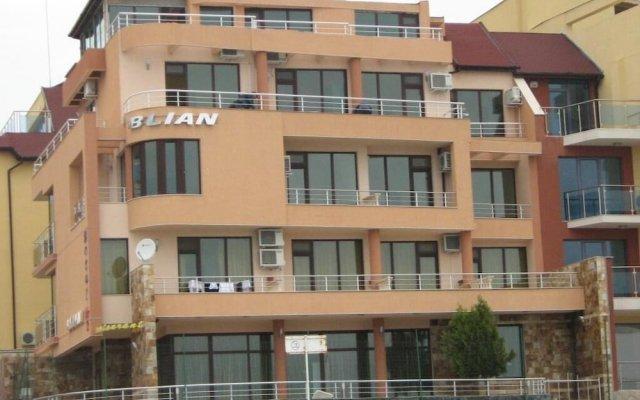 Семейный отель Блян Равда вид на фасад