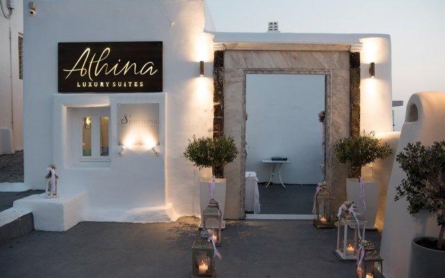 Отель Athina Luxury Suites Греция, Остров Санторини - отзывы, цены и фото номеров - забронировать отель Athina Luxury Suites онлайн вид на фасад