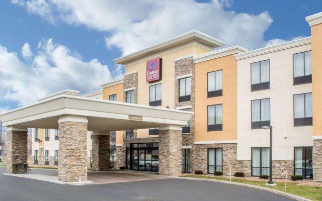 Отель Comfort Suites Cicero вид на фасад