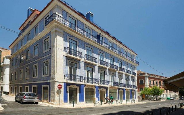 Апартаменты Portugal Ways Santos Azulejos Apartments вид на фасад