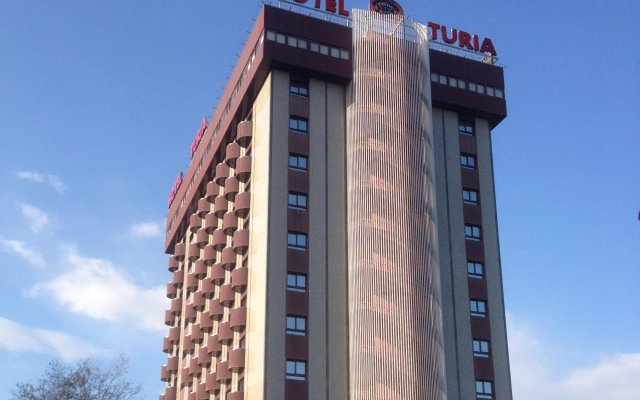Turia Hotel вид на фасад