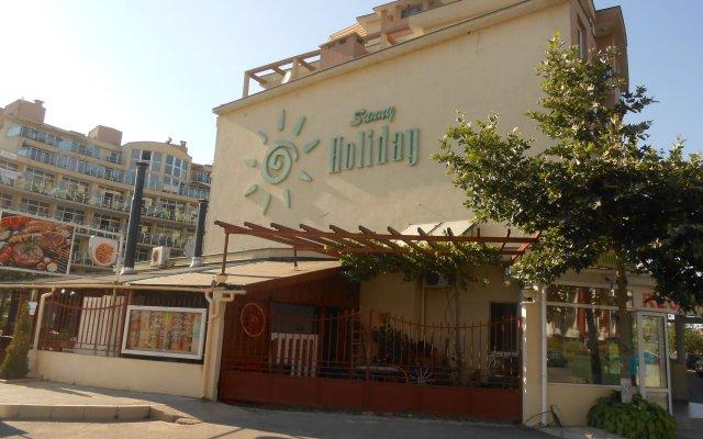 Отель Sunny Holiday Болгария, Солнечный берег - 1 отзыв об отеле, цены и фото номеров - забронировать отель Sunny Holiday онлайн вид на фасад