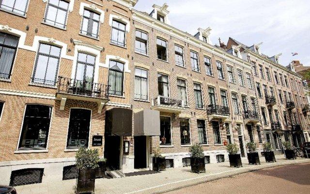 Отель Catalonia Vondel Amsterdam Амстердам вид на фасад
