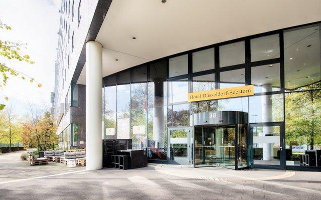 Отель Düsseldorf Seestern Германия, Дюссельдорф - отзывы, цены и фото номеров - забронировать отель Düsseldorf Seestern онлайн вид на фасад