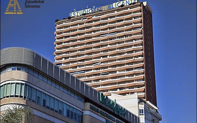 Отель Estudiotel Alicante вид на фасад
