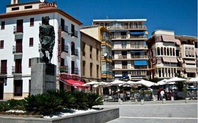 Отель Hostal Rio de Oro Алькаудете вид на фасад