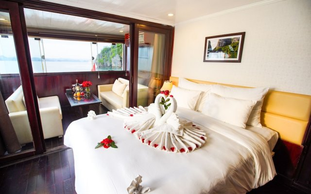 Отель Paloma Cruise Вьетнам, Халонг - отзывы, цены и фото номеров - забронировать отель Paloma Cruise онлайн комната для гостей