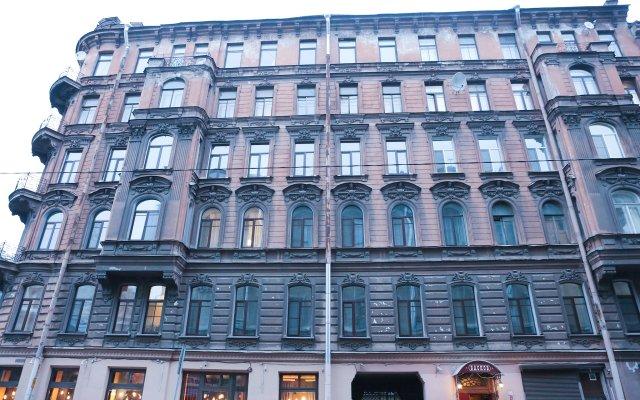 Гостевой Дом Басков вид на фасад
