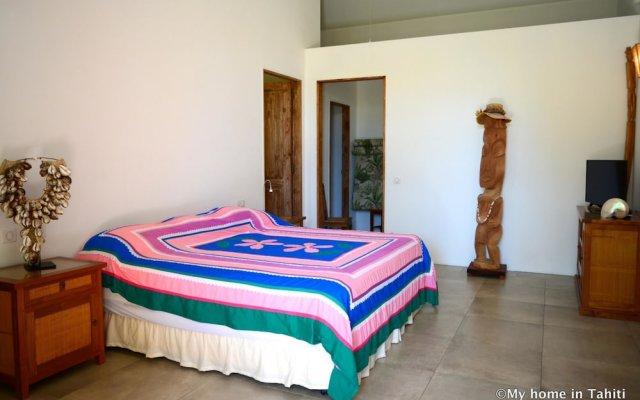 Отель Villa Maere Villa 1 Французская Полинезия, Пунаауиа - отзывы, цены и фото номеров - забронировать отель Villa Maere Villa 1 онлайн комната для гостей