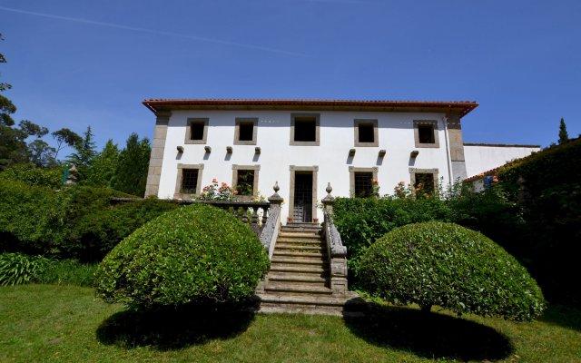 Отель Quinta do Convento da Franqueira вид на фасад