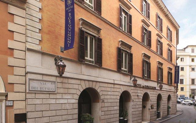 Dei Borgognoni Hotel вид на фасад