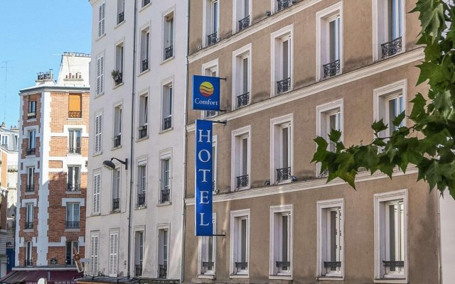 The Originals Hotel Paris Montmartre Apolonia (ex Comfort Lamarck) вид на фасад