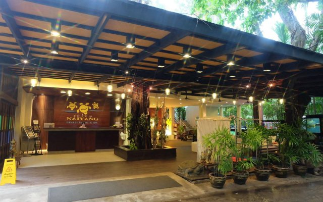 Отель Nai Yang Beach Resort & Spa вид на фасад
