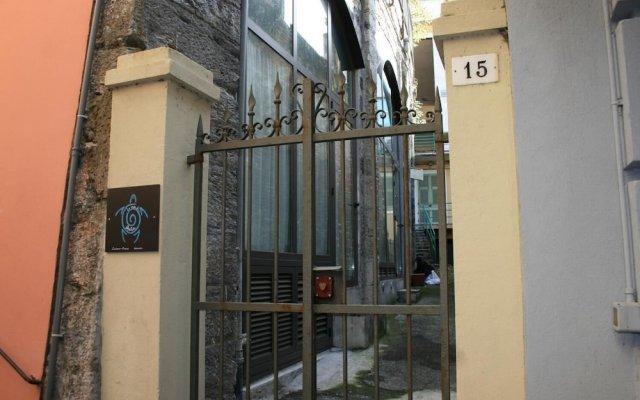 Отель La Casa di Greta Камогли вид на фасад