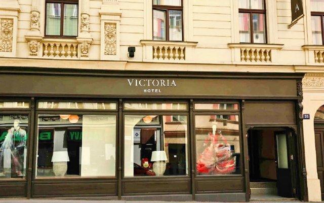 Hotel Victoria Прага вид на фасад