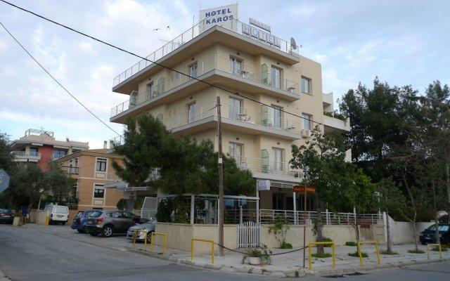 Hotel Ikaros вид на фасад