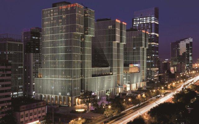 Wanda Vista Beijing Hotel вид на фасад