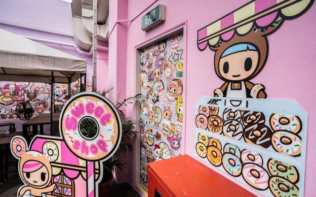 Tokidoki Popup Hotel вид на фасад