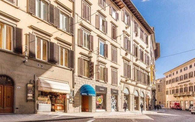 Отель Romagna Италия, Флоренция - 6 отзывов об отеле, цены и фото номеров - забронировать отель Romagna онлайн вид на фасад