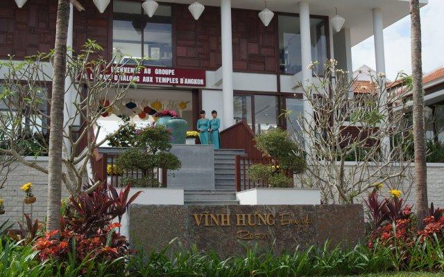 Отель Vinh Hung Emerald Resort Хойан вид на фасад
