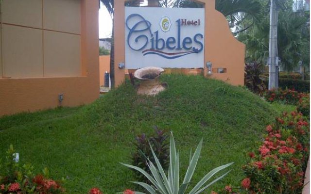 Hotel Cibeles La Ceiba Луизиана Ceiba вид на фасад