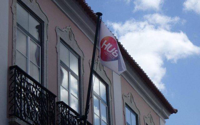 Hub New Lisbon Hostel вид на фасад