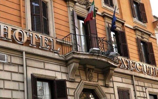 Отель Executive Италия, Рим - 2 отзыва об отеле, цены и фото номеров - забронировать отель Executive онлайн вид на фасад