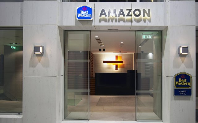 Best Western Plus Amazon Hotel вид на фасад