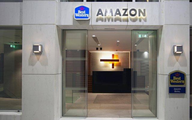 Отель Best Western Amazon Hotel Греция, Афины - 3 отзыва об отеле, цены и фото номеров - забронировать отель Best Western Amazon Hotel онлайн вид на фасад
