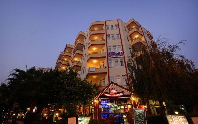 Angora Apart Hotel Турция, Аланья - отзывы, цены и фото номеров - забронировать отель Angora Apart Hotel онлайн вид на фасад